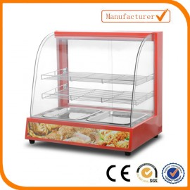 vitrina caliente food warmer